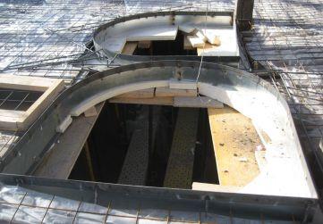 huecos conexión 4ª planta con bajo cubierta