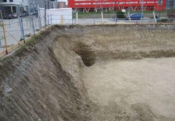 talud excavación