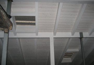 estructura madera en bajo cubierta