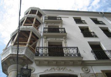 alzado calle Herrería
