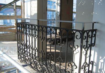 barandilla balcón reformada