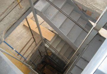 caja de escalera
