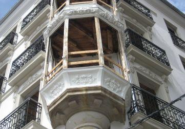 restauración zócalos miradores