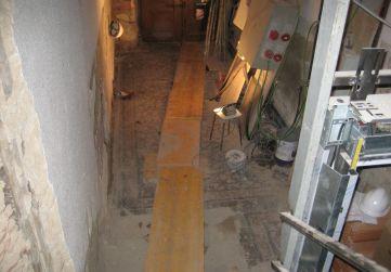apertura zanja saneamiento fecales