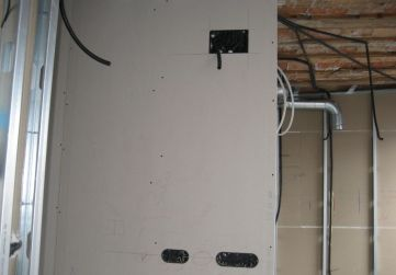 cajas eléctricas en tabiquería 1