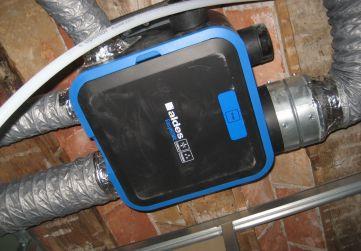 motor instalación ventilación mecánica