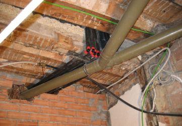 instalaciones techo portal saneamiento y fontanería