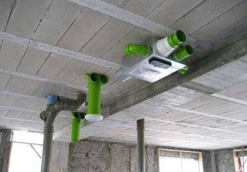 replanteo instalación ventilación