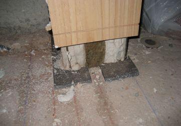 composición cerramiento con caja de escaleras