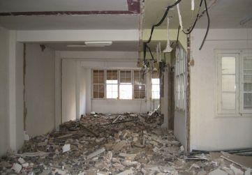 demolición en planta 2ª
