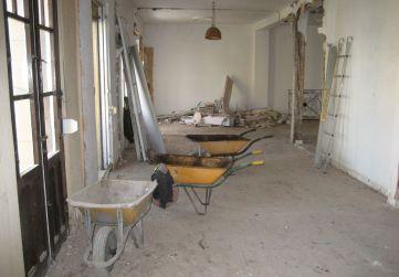 demolición en planta 3ª