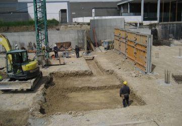 Excavación zapatas