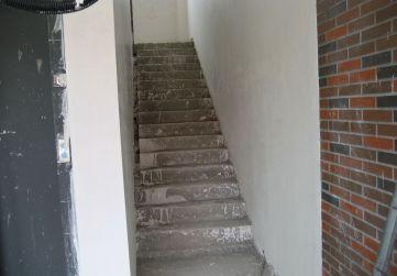 Yeso en caja de escalera