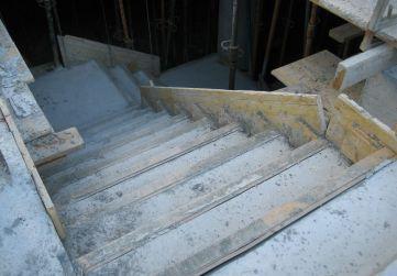 Escalera bajada sótano