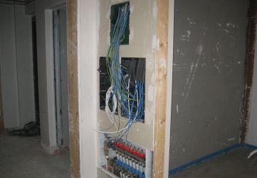 Centralización cuadros instalaciones interiores