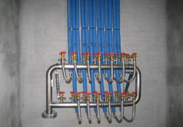 Batería contadores agua