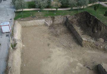 Vista general excavación