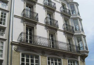 Alzado calle Diputación