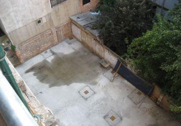 Hormigón limpieza nueva edificación