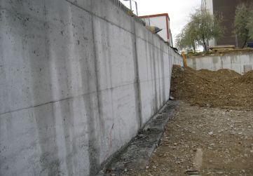 Muro de cimentación