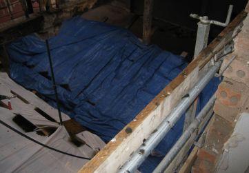 Protección techo locales