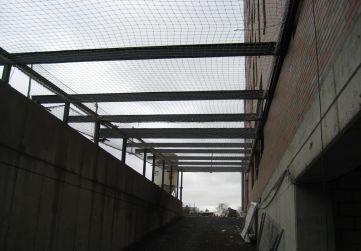 Estructura metálica cubierta rampa