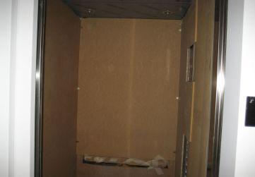 Protección cabina ascensor