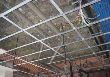 Aislamiento térmico techo planta baja