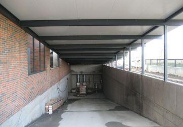Cubierta rampa garaje