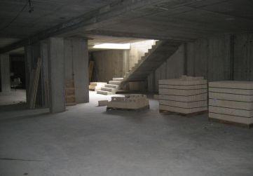 Comienzo tabiqueria trasteros en sótano