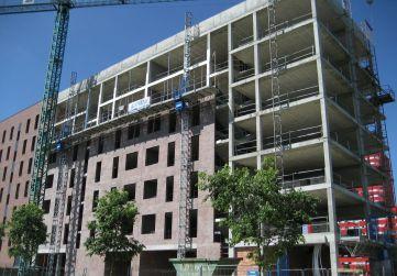 Ejecución fachada principal