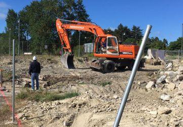 Excavación