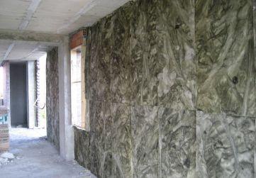 Colocación aislamiento térmico en fachada