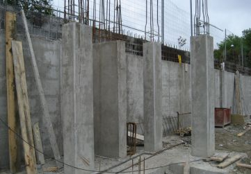 Pilares Planta Sótano