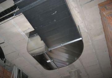 Conductos ventilación garaje