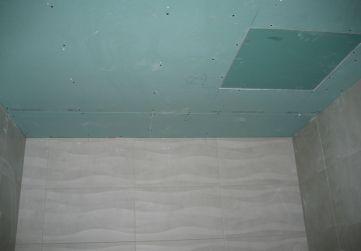 Falsos techos baños