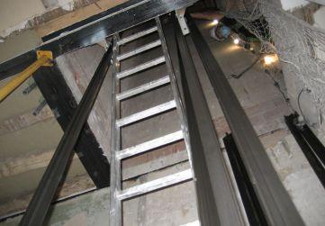 Comienzo instalación ascensor