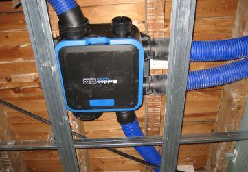 Sistema ventilación forzada viviendas