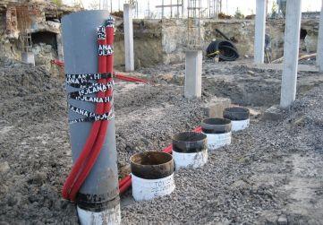 Instalación enterrada de RRSU