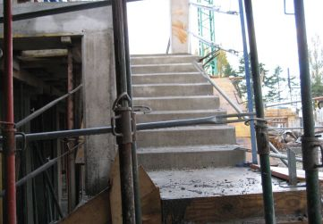 Escalera bajada garaje