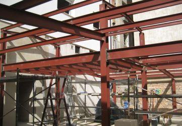 Estructura metálica instalaciones
