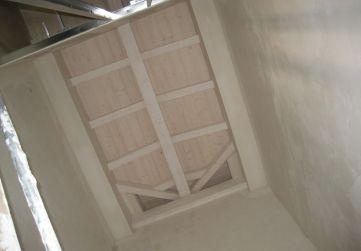 Techo caja escaleras