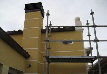 Trabajos en fachada