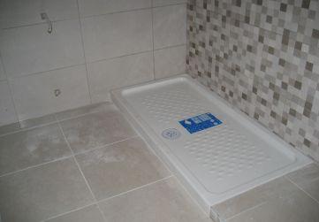 Cuarto de baño plato de ducha