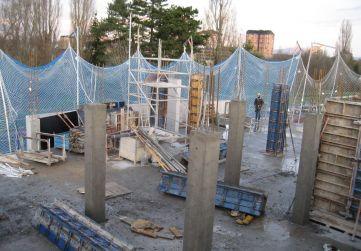 Pilares Planta 1º Portal 2