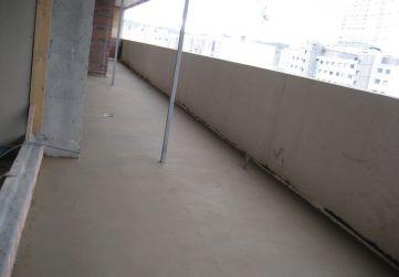 Formación de pendientes en terrazas