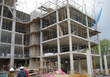 Alzado urbanización interior portal 2