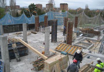 Pilares planta 4ª portal 2