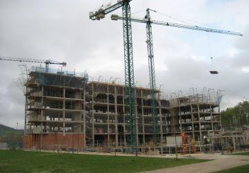 Vista general alzado urbanización interior