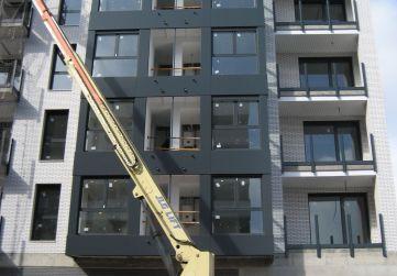 Revestimiento miradores con panel composite